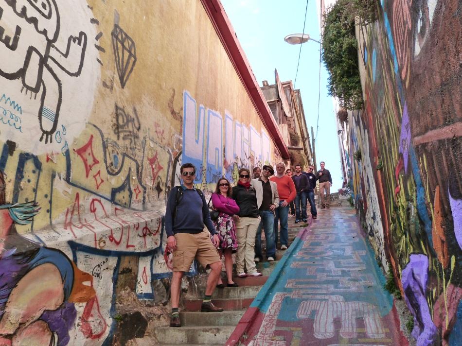Visita a Valparaiso